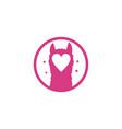 alpaca love logo vector image