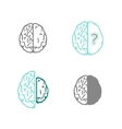 Alzheimers Icon vector image