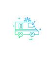 Ambulance car emergency medical icon desige
