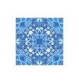 Blue And White Tile Portuguese Famous Symbol vector image vector image