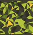 blue grid mosaic background creative design vector image vector image