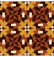 Brown seamless pattern made from man figures vector image vector image