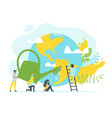 concept for environment protection vector image vector image