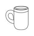 delicious coffee cup vector image vector image