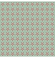 Retro flower pattern vector image vector image