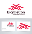 Bicycle Connect vector image vector image