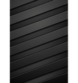 Black tech corporate stripes background vector image vector image