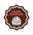 Chocolate icon design vector image vector image