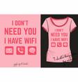 fashion print for t shirt internet kawaii emoji vector image vector image