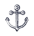 Isolated anchor design vector image vector image