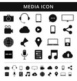 media icons simplus series each icon is a single vector image