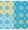 Set of seamless patterns with sun and spiral vector image vector image