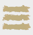 shred and part of ancient papyrus vector image vector image