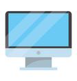 technology computer screen cartoon vector image vector image