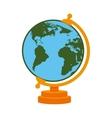 world map school cartoon isolated vector image