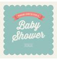 baby shower card invitation