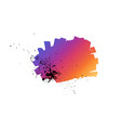 abstract hand drawn painted gradient paint vector image vector image