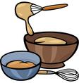 dough knead clip art vector image