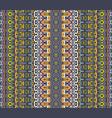 geometric ethnic seamless pattern ornamental vector image