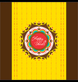 happy diwali greeting card or poster design vector image