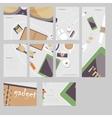 Im fond of gadgets set Flat business vector image vector image
