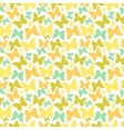 Seamless pattern with hand drawn outline vector image