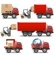 Shipment Icons Set 34 vector image vector image