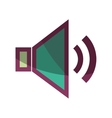 speaker classic symbol isolated icon vector image