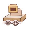 A wagon vector image vector image