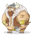 Big viking vector image vector image