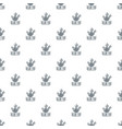 carrot pattern seamless vector image