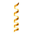 event serpentine icon realistic style vector image vector image