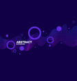 trendy abstract art background with minimalistic vector image
