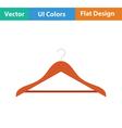 Cloth hanger icon vector image