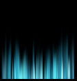 abstract blue magic light rays over dark vector image vector image