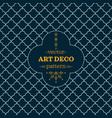 art deco monochrome seamless arabic background vector image