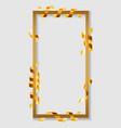 festival frame serpentine concept banner vector image