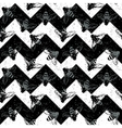 Grunge chevron seamless pattern Vintage design vector image vector image