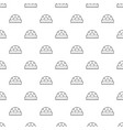 ruler pattern seamless vector image vector image