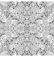 Seamless background textile with floral shapes vector image vector image