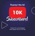 10k subscribers