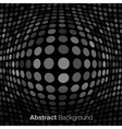 Abstract Dark Gray Technology Background vector image vector image
