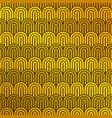 abstract luxury mustard yellow and black pattern vector image