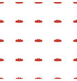 bread icon pattern seamless white background vector image vector image
