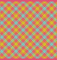 check plaid fabric texture seamless pattern vector image vector image