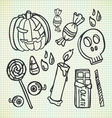 Halloween stuff vector | Price: 1 Credit (USD $1)