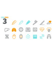 health ui pixel perfect well-crafted thin vector image