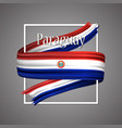 paraguay flag official national paraguayan symbol vector image vector image