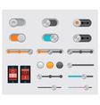 Ui buttons set vector | Price: 1 Credit (USD $1)