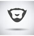 Goatee icon vector image